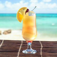 Cruzan Rum Cocktail on St Croix