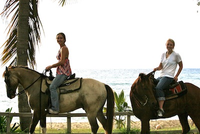best caribbean vacation - st croix horseback riding