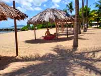 Tamarind Reef Hotel Beach