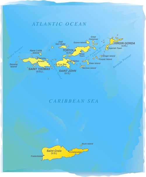 usvi maps illustration