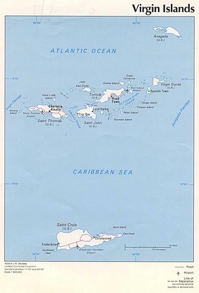 USVI Maps - Our Favorites