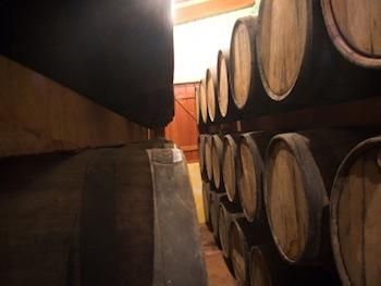 Cruzan Rum Barrels