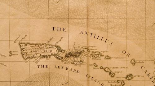 usvi maps antique